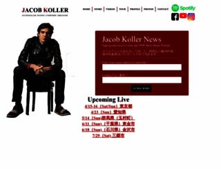 jacobkoller.com screenshot