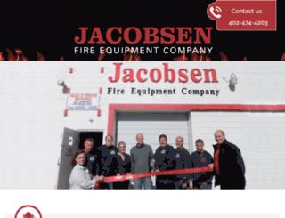 jacobsenfireequipment.com screenshot