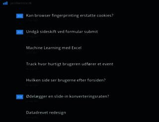 jacobworsoe.dk screenshot