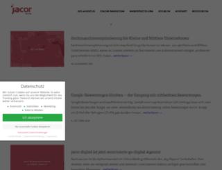 jacor.de screenshot