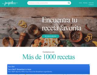 jacquelinehenriquez.com screenshot