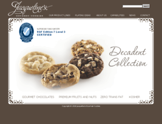 jacquelinesbakery.com screenshot