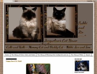 jacquelinescathouse.blogspot.com screenshot