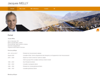 jacquesmelly.ch screenshot