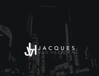 jacquesvh.com screenshot