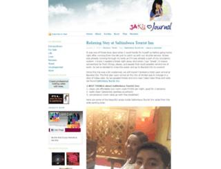 jacqui26.wordpress.com screenshot