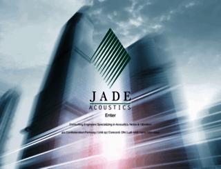 jadeacoustics.com screenshot