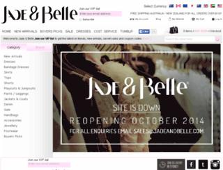 jadeandbelle.com.au screenshot