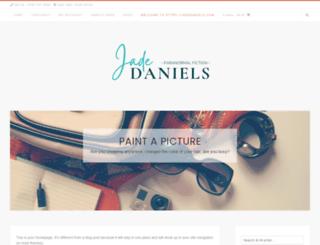 jadedaniels.com screenshot