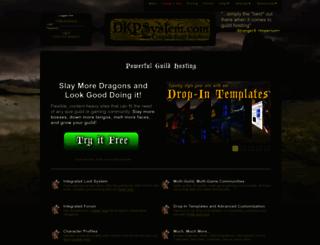jadedsouls.dkpsystem.com screenshot