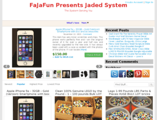 jadedsystem.com screenshot