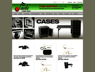 jademusicstore.com screenshot