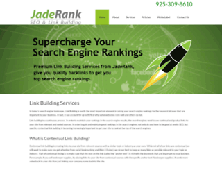 jaderank.com screenshot