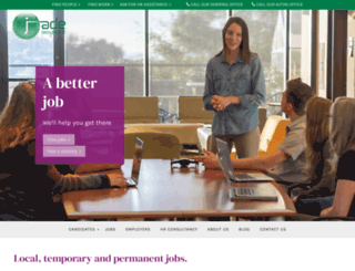 jaderecruitment.net screenshot
