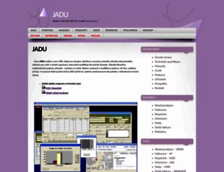jadu.cz screenshot