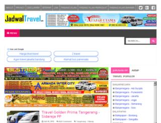 jadwal-travel.blogspot.com screenshot
