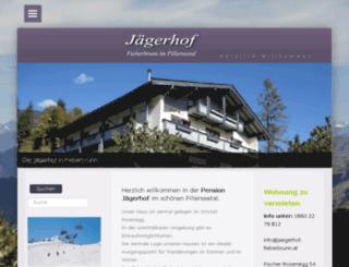 jaegerhof-fieberbrunn.at screenshot