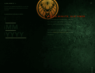 jaegermeister.com screenshot