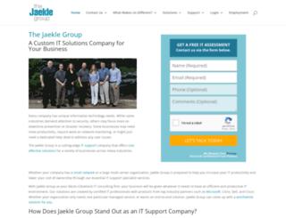 jaeklegroup.com screenshot