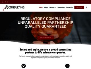 jafconsulting.com screenshot