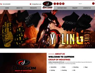 jaffson.com screenshot