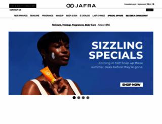 jafra.com screenshot