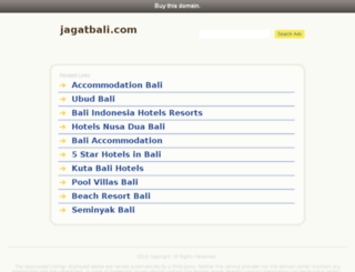jagatbali.com screenshot
