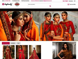 jagdambasarees.com screenshot