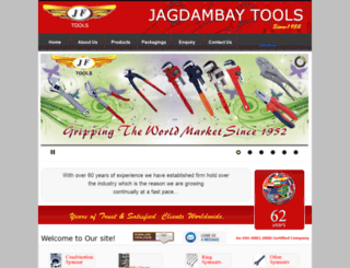 jagdambaytools.com screenshot