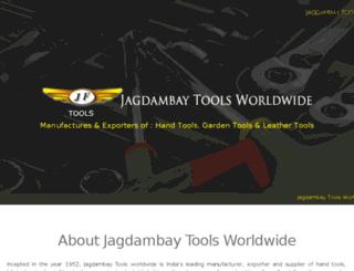 jagdambaytoolsworldwide.com screenshot