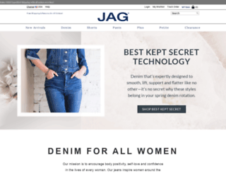jagjeans.com screenshot