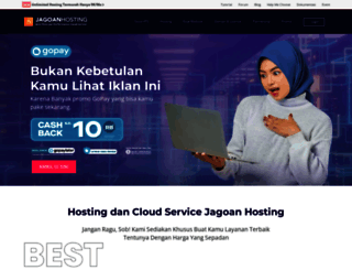 jagoanhosting.com screenshot