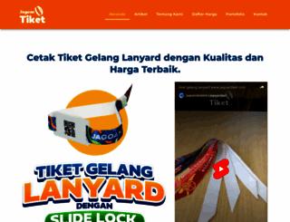 jagoantiket.com screenshot