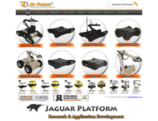 jaguar.drrobot.com screenshot