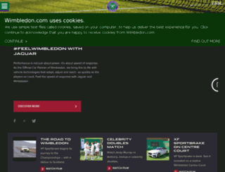 jaguar.wimbledon.com screenshot