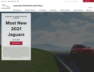jaguarhoustoncentral.com screenshot