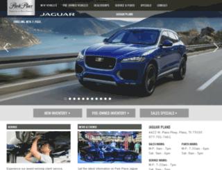 jaguarplano.parkplacetexas.com screenshot