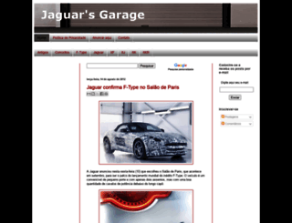 jaguarsgarage.blogspot.com screenshot
