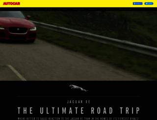 jaguarxe.autocar.co.uk screenshot