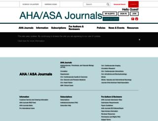 jaha.ahajournals.org screenshot