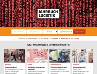jahrbuchlogistik.de screenshot
