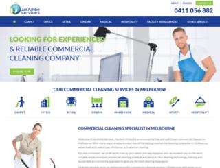 jaiambeservices.com.au screenshot
