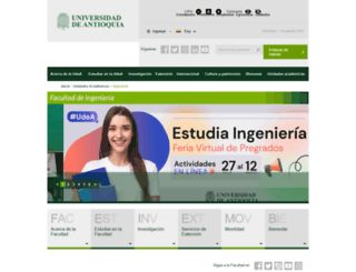 jaibana.udea.edu.co screenshot