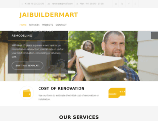 jaibuildermart.com screenshot