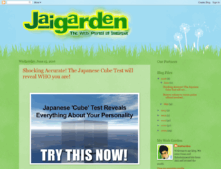 jaigarden.blogspot.com screenshot