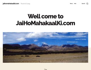 jaihomahakaalki.com screenshot