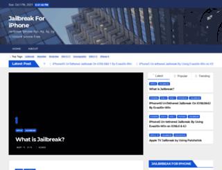jailbreakforiphone.com screenshot