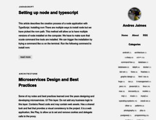 jaimes.net screenshot