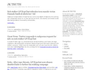 jaimiekanwartruth.com screenshot