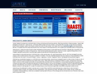 jainexgroup.in screenshot